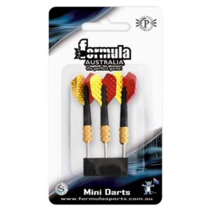 MINI BRASS DARTS - FORMULA