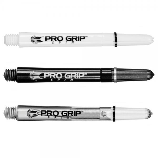 TARGET PRO GRIP SPIN SHAFTS - 2BA THREAD - SHORT, INTERMEDIATE & MED/STD