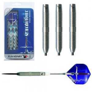 ELKADART EXCALIBUR 80% TUNGSTEN DARTS - 22, 24 & 26gm