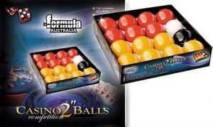 "CASINO BALL SET - FORMULA - PREMIUM - 2"""