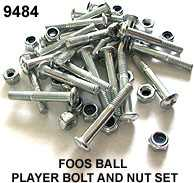 FOOSBALL - PLAYER BOLT AND NUT SET (22 pcs)