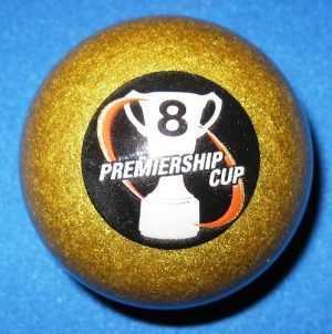"AFL PREMIERSHIP CUP 8 BALL - ARAMITH - 2"""