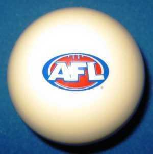 """AFL LOGO CUE BALL - ARAMITH - 2"""""""