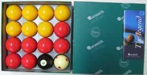 "CASINO BALL SET - ARAMITH PREMIER - 2"""