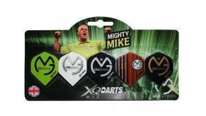 XQ MAX FLIGHTS - MICHAEL VAN GERWEN - VALUE PACK - (Card of 5 Sets)