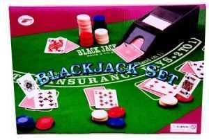 BLACKJACK/ROULETTE SET - DELUXE