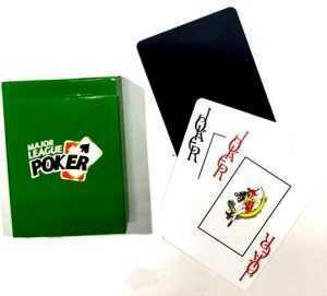 POKER CARDS - MAJOR LEAGUE - CASINO QUALITY