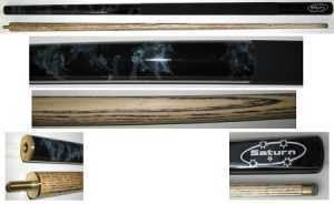 "2 PIECE ASH CUE - POWERPLAY SATURN W/GRIP - 57"" 10mm TIP"