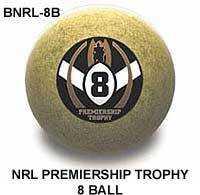"2"" ARAMITH NRL PREMIERSHIP TROPHY 8 BALL"