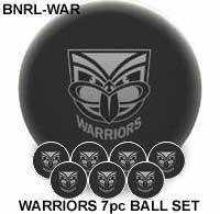 "2"" ARAMITH NRL CLUB LOGO BALL SETS - Warriors"