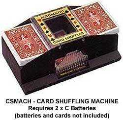 CARD SHUFFLER - AUTOMATIC