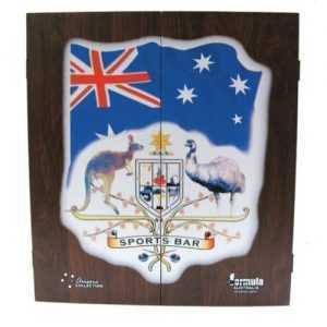 DARTBOARD CABINET MDF - AUSTRALIAN SPORTS BAR