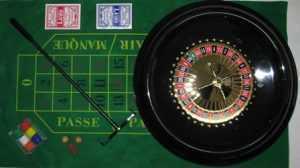 """ROULETTE GAME SET - 16"""" DELUXE"""