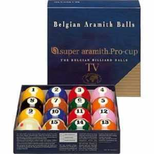 "NINE BALL SET - ARAMITH SUPER PRO ""TV"" - 2 1/4"""