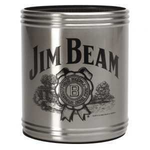 JIM BEAM - CAN COOLER - STAINLESS STEEL