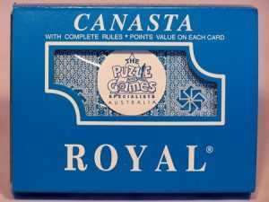 ROYAL CANASTA PLAYING CARDS - DOUBLE PACK