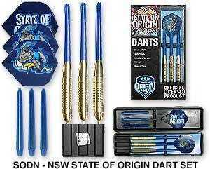 NEW SOUTH WALES STATE OF ORIGIN DART SET