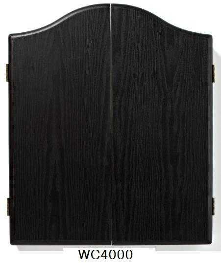 DARTBOARD CABINET WINMAU - BLACK