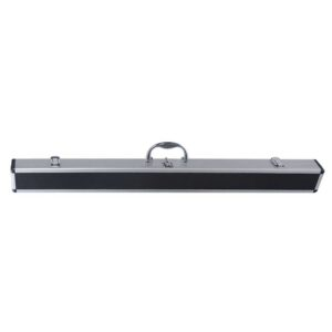 CUE CASE - 2 PIECE - BLACK TOP ALUMINIUM
