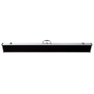 CUE CASE - 2 x 3/4 - BLACK TOP ALUMINIUM